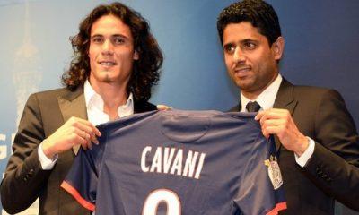 Cavani, un transfert « imprévu » au PSG