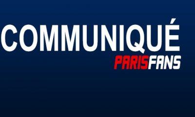 Parisfans demande pardon à ses lecteurs pour son erreur
