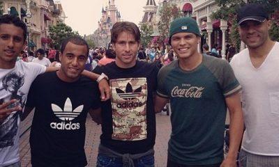 Petit tour à Disneyland pour les Brésiliens du PSG