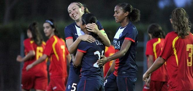 Les filles s'éclatent et gagnent 10-0 en amical !