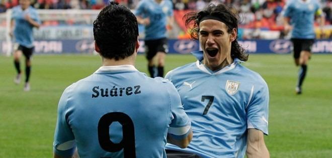 CM2014 : Cavani et l'Uruguay ont un pied au Mondial !