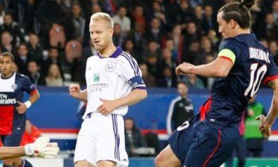Le capitaine d'Anderlecht s'est écrasé face à Zlatan