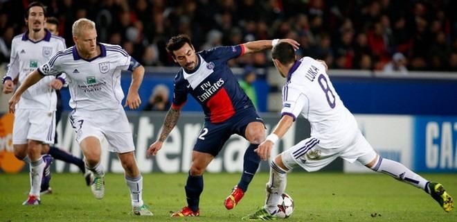 PSG - Anderlecht : Elisez l'homme du match