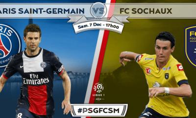 PSG - Sochaux : les compos officielles