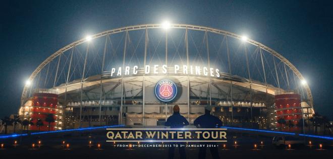 QTA fait la promo du Qatar grâce au PSG