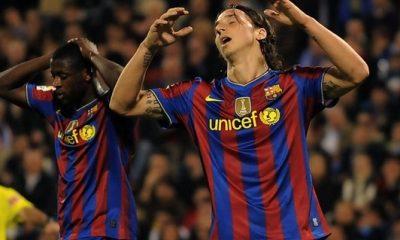 Mercato - Ibrahimovic au cœur des débats du FC Barcelone