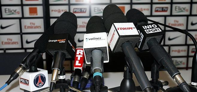 Live : la conférence de Blanc avant Guingamp