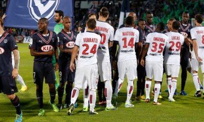 PSG - Bordeaux : les compos officielles