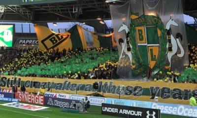 Les Ultras nantais boycottent le Parc