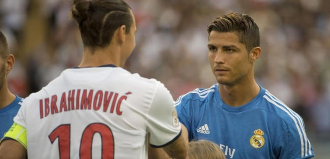 La réaction de Zlatan Ibrahimovic à la rumeur Cristiano Ronaldo