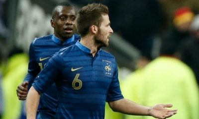 France - PB : les compos avec Cabaye, Matuidi et VdW