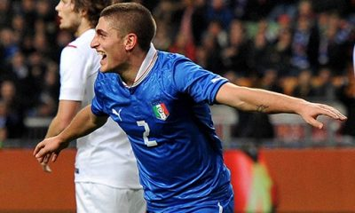 Sirigu, Motta et Verratti en sélection d'Italie
