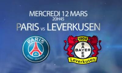 PSG - Leverkusen : la feuille de match