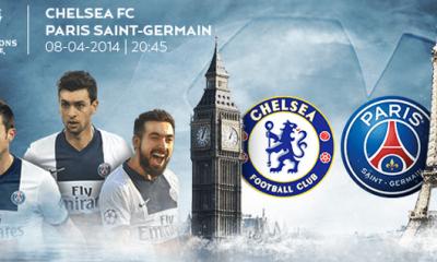 Chelsea - PSG : la feuille de match
