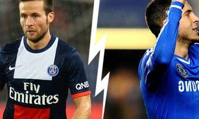 PSG - Chelsea : Cabaye / Hazard, le face à face