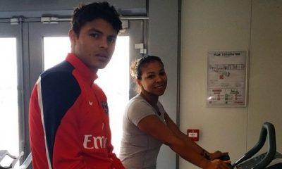 Thiago Silva prépare le Mondial...au Camp des Loges
