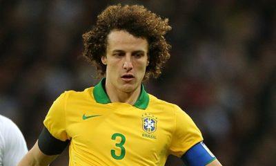 CDM2014- David Luiz capitaine contre l'Allemagne