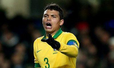 Thiago Silva pas séléctionné avec la Seleçao !