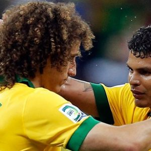 David Luiz «Thiago Silva est mon ami, j'adore jouer avec lui, mais la décision appartient à Dunga»