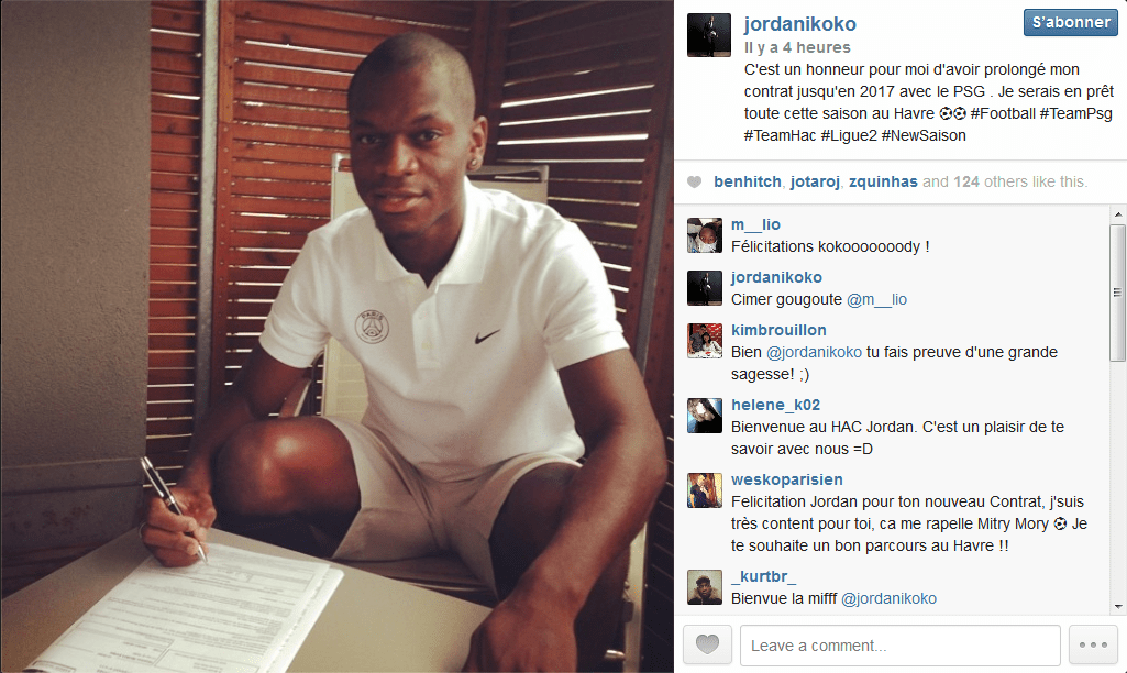 Ikoko Jordan prolonge au PSG