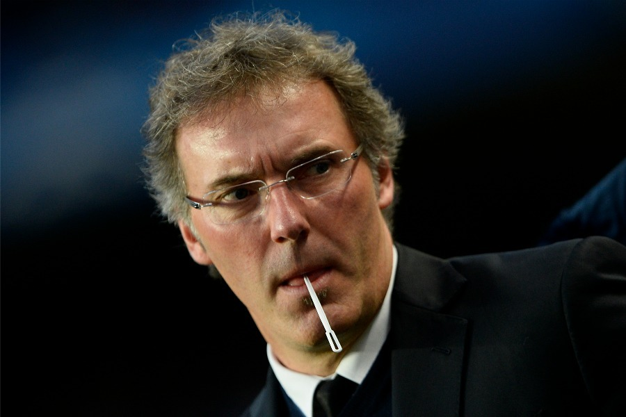 Laurent Blanc et son effectif du PSG réduit