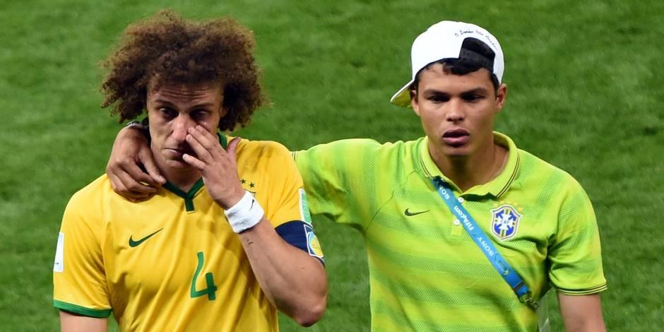 """Gil """"David et Thiago sont d'excellents joueurs et de très bonnes personnes mais le choix est celui du professeur Dunga"""""""