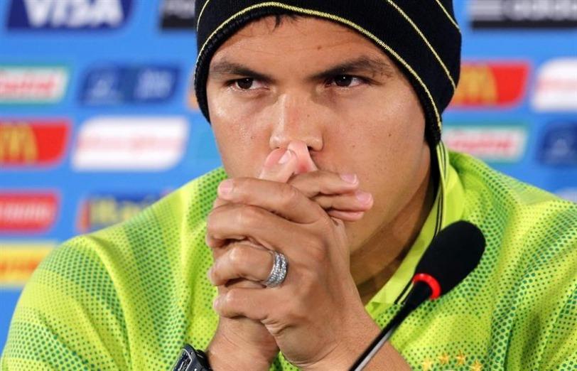 """Copa America - Thiago Silva ne se souvient pas """"avoir touché la balle de la main"""""""