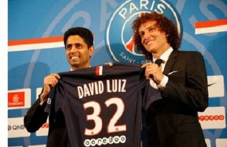 """PSG - David Luiz """"Je suis vraiment un mec chanceux"""""""