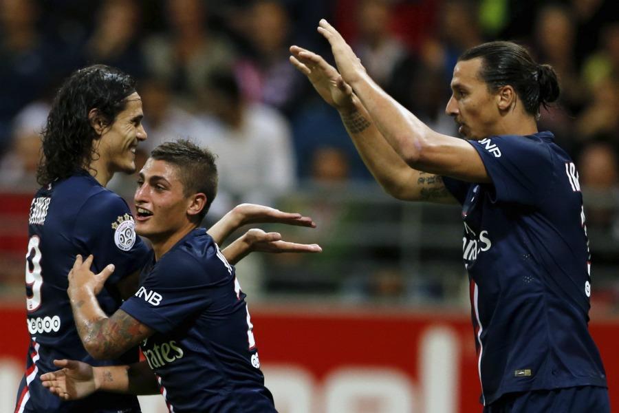 Ligue 1 - La ballade des parisiens au Parc, menés par Ibra.