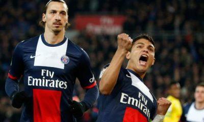 Ligue1 - PSG - Rennes, Ibrahimovic et Thiago Silva, de l'envie et du sérieux