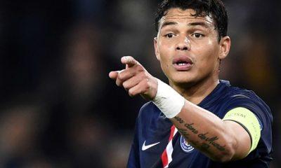 "Ligue 1- Thiago Silva ""n'a pas besoin de parler"" à Aulas"