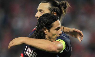 Ligue 1 - Cavani et Ibra, duo complice et gagnant pour Ménès
