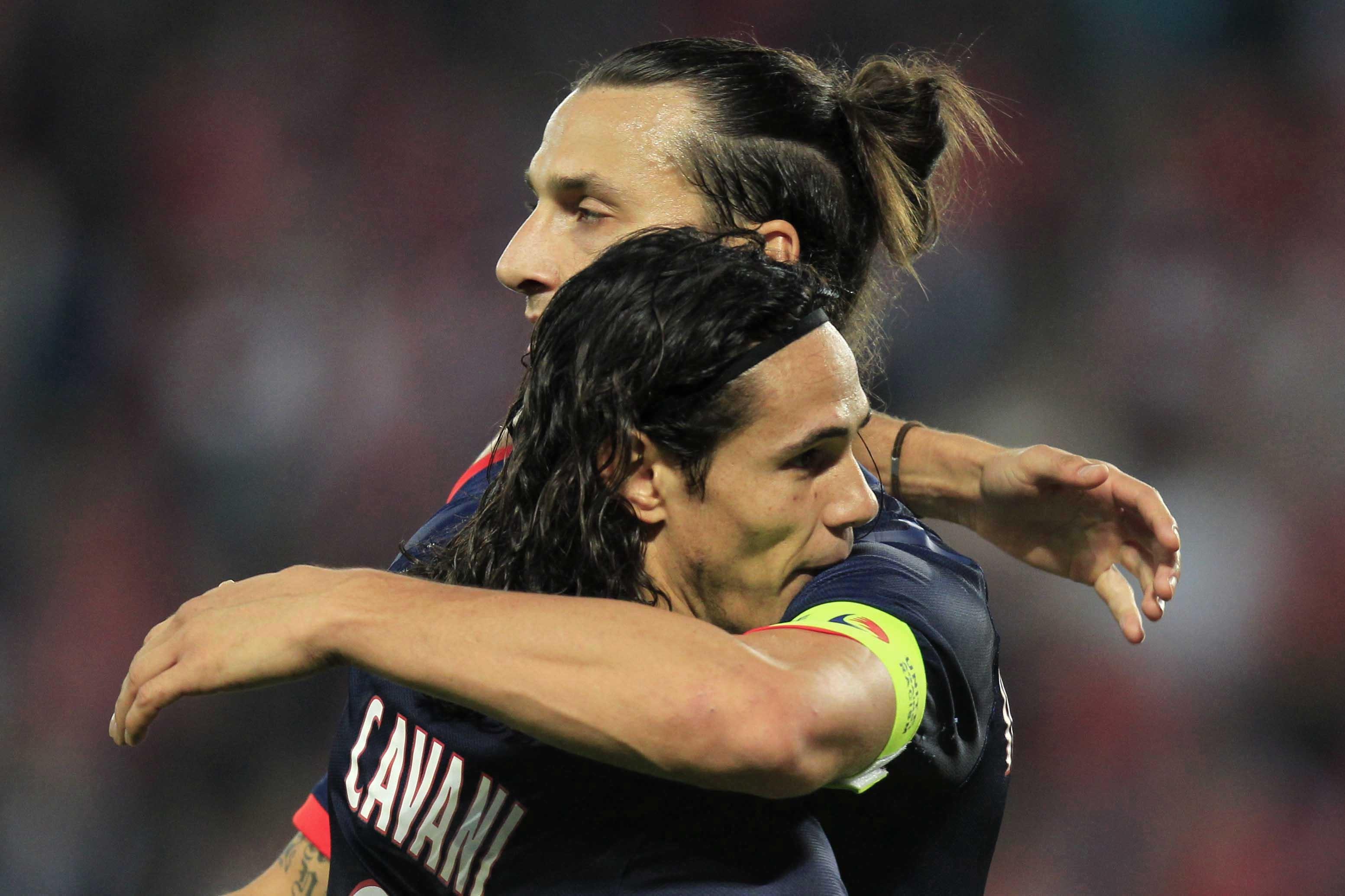 PSG- Cavani: Ibrahimovic ? «Il est l'un des meilleurs joueurs au monde»