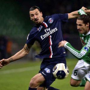 LE PSG remporte face a Saint Etienne