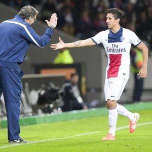 """Laurent Blanc """"Ne cherchons pas un problème avec Marquinhos"""", """"il va énormément jouer"""""""