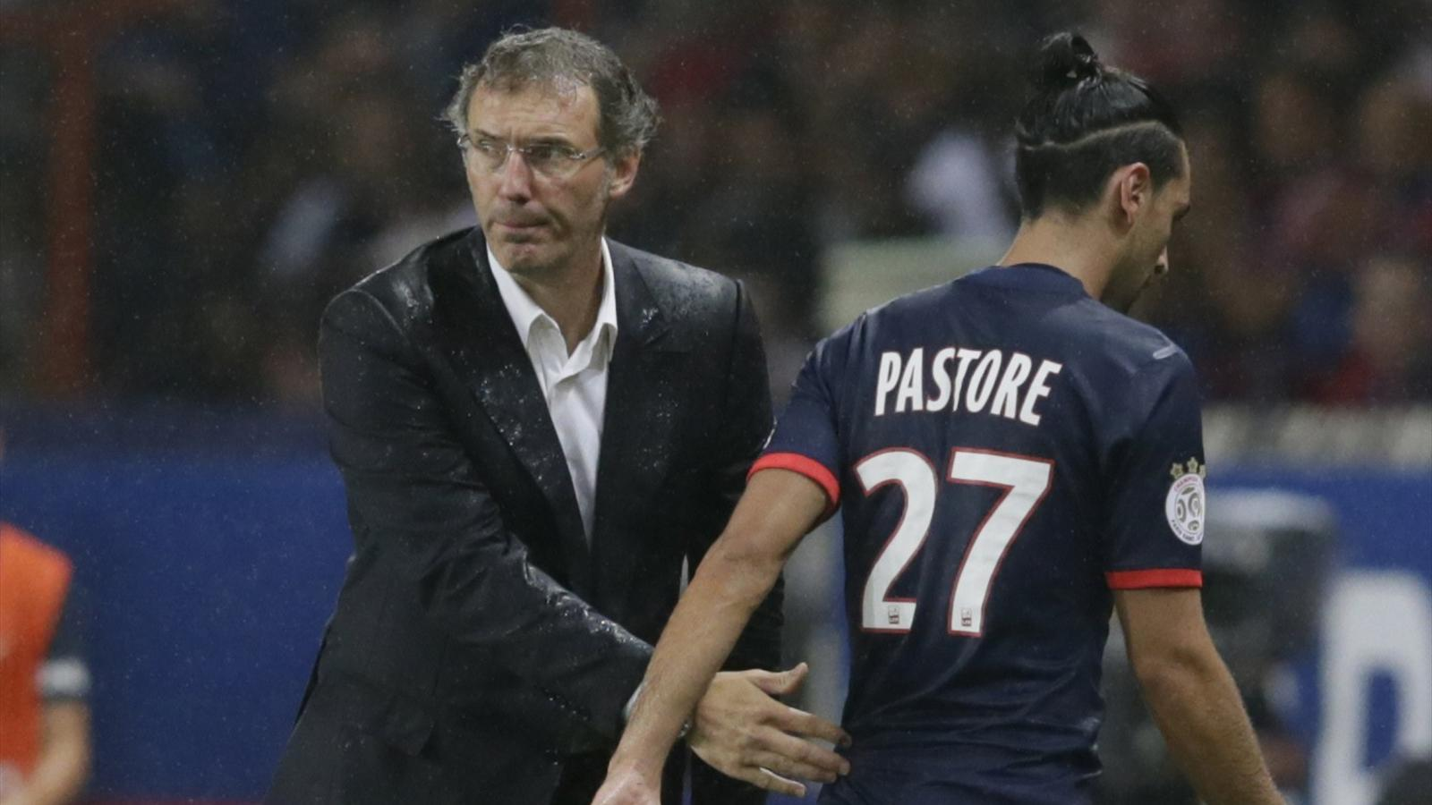 """PSG - Pastore """"Bravo à Laurent Blanc qui a cru en lui."""" affirme Roustan"""