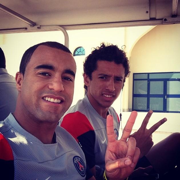 Lucas Et Marquinhos Se Moquent De Z. Ibrahimovic