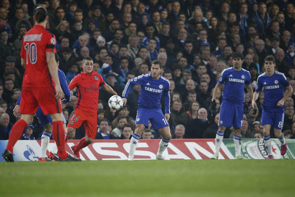 Laurent Blanc « Ce PSG - Chelsea fait partie des plus grandes affiches des 8e de finale.»