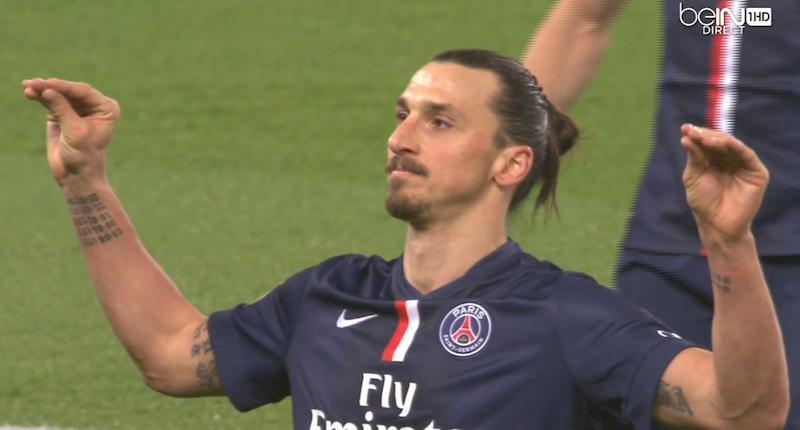 CDF - Les notes des Parisiens à Wasquehal, Zlatan Ibrahimovic homme du match