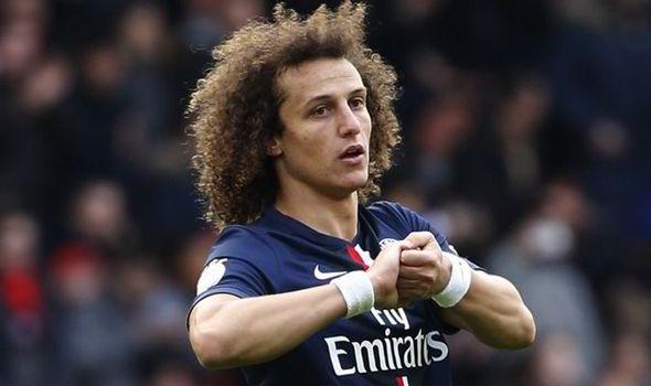 David Luiz souffrant au genou, ne s'est pas entrainé