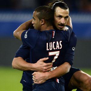 Lucas n'y croit pas trop pour Neymar au PSG en 2016 et veut qu'Ibrahimovic reste