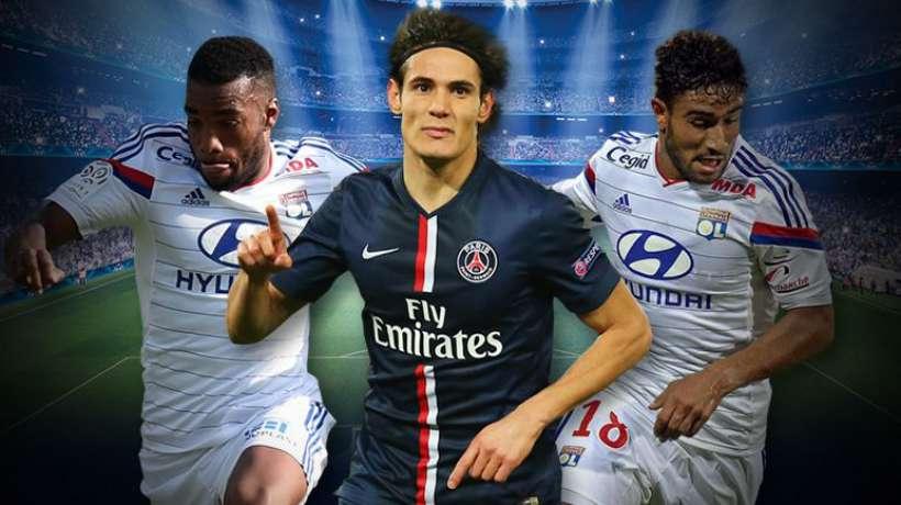 Ligue 1- Cavani rend hommage à Fekir et Lacazette