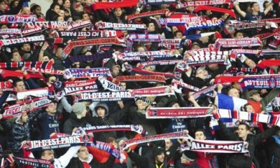 Le Collectif Ultras Paris manifeste au Camp des Loges après l'annulation de billets