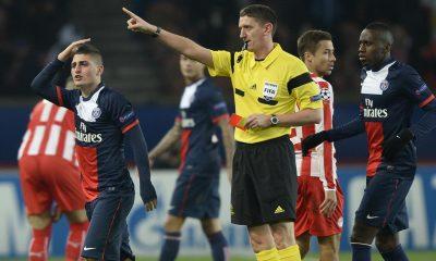 Ligue 1- Motta et Verratti suspendus contre Montpellier