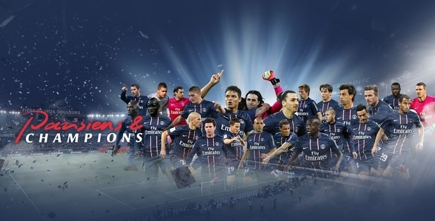PSG Champion Coupe de France 2015