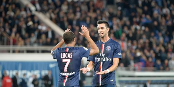 PSG - Saison 2015-2016 : Statistiques, après Lille - PSG