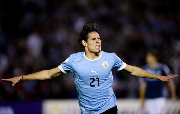 Copa America - Edinson Cavani titulaire face au Chili