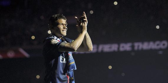Thiago Silva remercie les supporters pour son prix de meilleur sportif de l'année 2015
