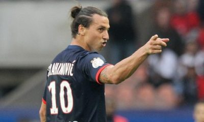 "PSG - Ibrahimovic chambre Trapp en marquant ""Welcome to Paris"""