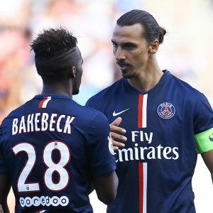 Zlatan + Bahebeck retour entrainement